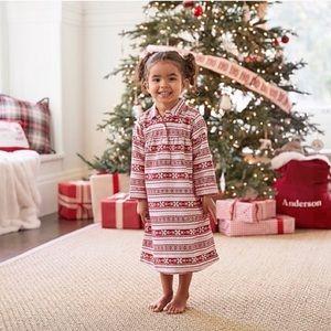 Kids Fairisle Flannel Nightgown